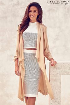 Lipsy Love Michelle Keegan Duster Coat