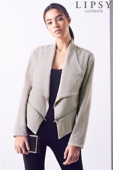 Lipsy Zipped Crop Jacket