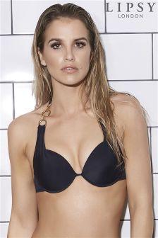 Lipsy Link Chain Bikini Top