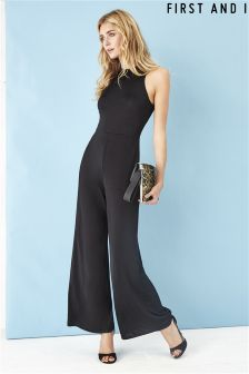 First and I Wide-leg Jumpsuit