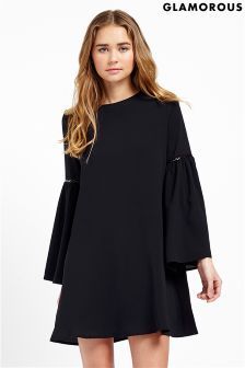 Glamorous Bell Sleeve Dress