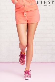 Lipsy Fluro Lace Detail Shorts