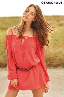 Glamorous Bardot Sleeved Tunic