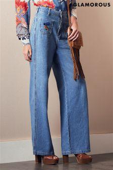 Glamorous 70's Inspired Denim Flares