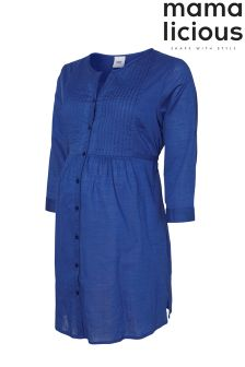 Mamalicious Maternity 3/4 Sleeve Tunic Dress