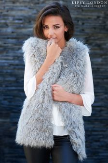 Lipsy Love Michelle  Faux Fur Gilet