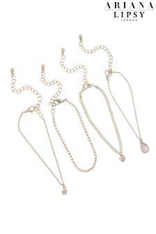 Ariana Grande For Lipsy Pearl 4 Pack Bracelet