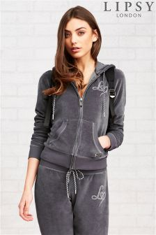 Lipsy Sequin Wing Detail Hoody