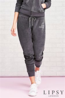 Lipsy Sequin Wing Detail Cuff Jogger