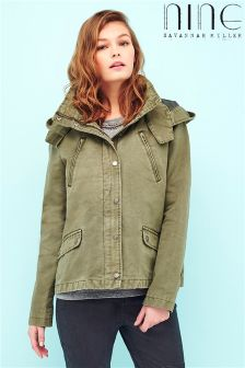 Nine By Savannah Miller Short Parka