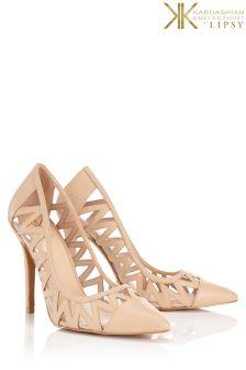Kardashian Kollection Cutout Court Shoe