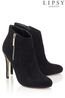 Lipsy Zip Detail Ankle Boot