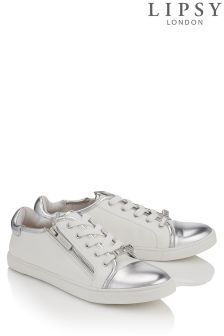 Lipsy Zip Detail Trainers