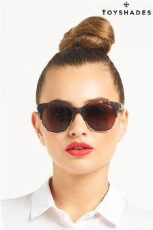 Toy Shades Matte Tortoiseshell Sunglasses