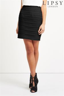 Lipsy Ripple Mini Skirt