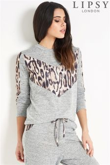 Lipsy Mix Print Jumper