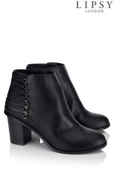 Lipsy Block Heel Ankle Boots