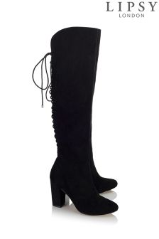 Lipsy Corset Knee Boots