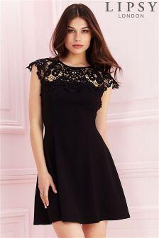 Lipsy Lace Swing Dress
