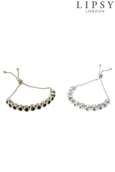 Lipsy Chain 2 Pack Bracelet