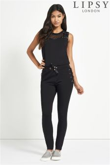 Lipsy Lace Up Jumpsuit