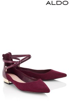 Aldo Strappy Ballerina Shoes