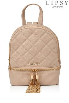 Lipsy Mini Quilted Backpack