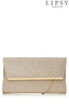 Lipsy Lurex Clutch Bag
