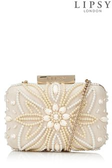 Lipsy Beaded Clutch Bag