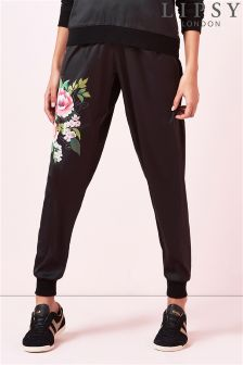 Lipsy Floral Satin Joggers