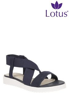 Lotus Flat Strappy Sandals