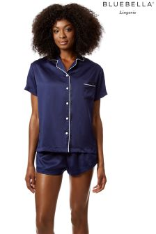 Bluebella Shirt And Short Pyjama Set