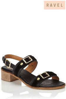Ravel Low Heel Sandals