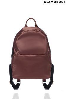 Glamorous Satin Backpack
