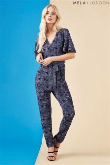 Mela Loves London Paisley Print Jumpsuit