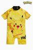 <span>Yellow</span> - Strój przeciwsłoneczny Pokémon™ (3m-cy-6lata)