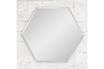 Hexham Hexagon Wall Mirror