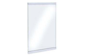 Moderna Chrome Plated Mirror