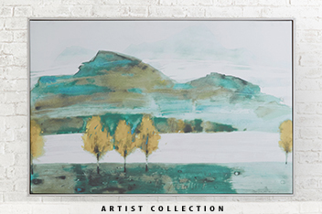 Artist Collection Autumn Trees II By Law Wai Hin Frame