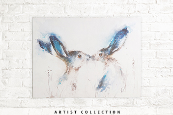 Artist Collection Tickly Kisses By Sarah Reilly Canvas