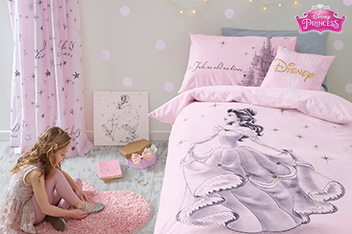 Beauty And The Beast Bed Set