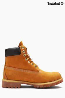 Timberland® Wheat Nubuck 6 Inch Premium Icon Boot