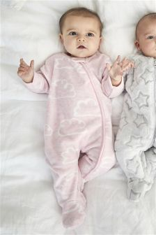 Cloud Fleece Sleepsuit (0mths-3yrs)