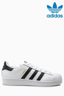 Buty sportowe adidas Originals Superstar, bialo-czarne
