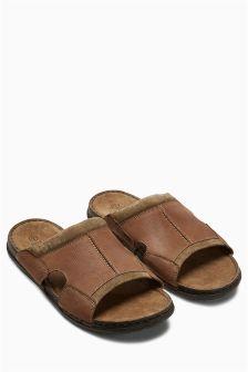 Leather Mule