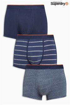 Superdry Sport Trunks Three Pack