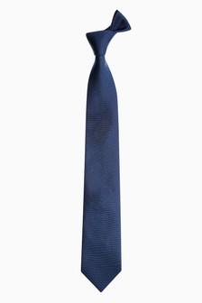 Фактурный шелковый галстук