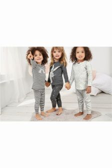 Rabbit Snuggle Pyjamas Three Pack (9mths-8yrs)
