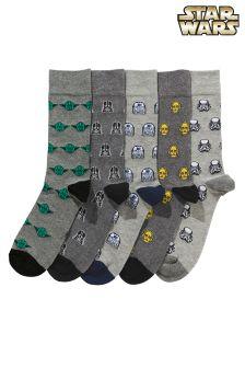 Star Wars™ Character Socks Five Pack