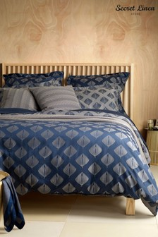 Secret Linen Store Pinecones Duvet Cover